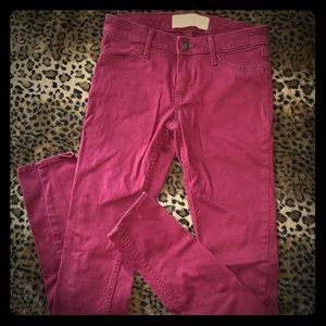 Hollister/Abercrombie & Fitch Super Skinny Jeans